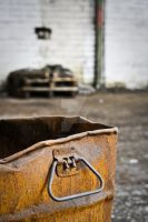 rusted container by puddingtown