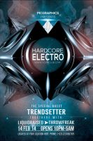 HardCore Electro Flyer Template by MCerickson