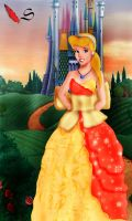 Cinderella Evening by Sonala