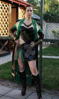 Lady Loki movie adapted set general look by lady-narven