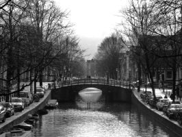 Amsterdam canal by PhilsPictures