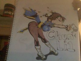 Chun Li 1 colored by Makasu18