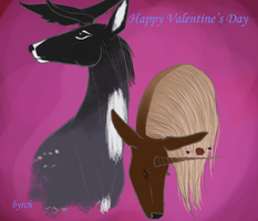 Happy Valentines day by byrch
