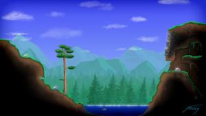 Terraria HD by jimmarn