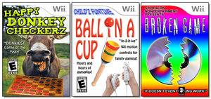 Wii Shovelware by NAveryW