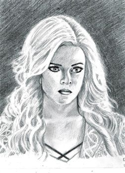 Caitlin Snow Killer Frost Danielle Panabaker Flash by DoctorFantastic