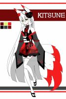 Kitsune adoptable CLOSED by AS-Adoptables