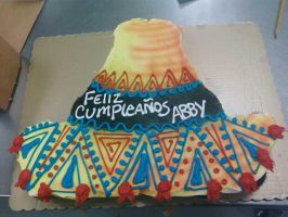 Sombrero Cupcake Cake by TheForest