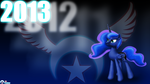 Princess Luna - 2013 by 115Predator