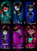 lil highbloods, homestuck by smallfry16