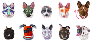 Pixelheads by sp00nd