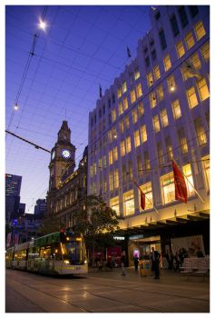 Bourke St Mall by banjoeskimo