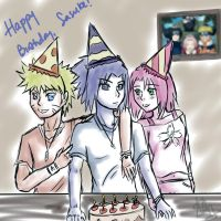 Sasuke birthday tribute by sasuxsaku842