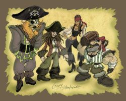 Pirate Designs by Stnk13