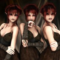Trouble Comes in Threes by Jazzine