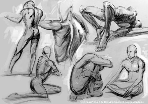 Life Drawing at CAD by reiq