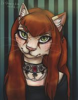 Little Gothic Pussy by LushmindaWolf