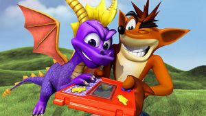 crash and spyro by bandicoot9898