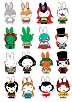 Generation Miffy the 15th by likimonster