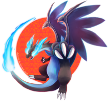 MEGA CHARIZARD by Dotoriii