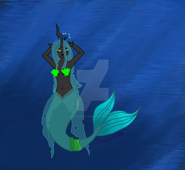 MermaidChrysalis(Commission) by LuciDeVille