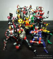 Heisei Riders by dezet08