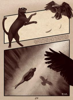 Changing stories final page [24h+ comic] by blayrd