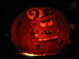 Pumpkin - Spongebob and Gary by snerk