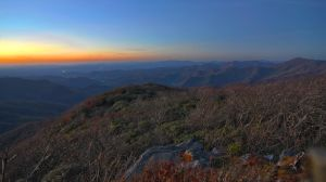 blue ridge parkway sunset by digidreamgrafix