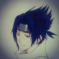 Uchiha Sasuke by thumbelin0811