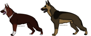 German Shepard Breedables2 by SoulOfWolves