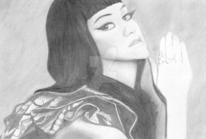 Katy Perry Drawing by Narniakid