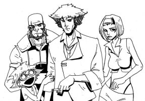 COWBOY BEBOP by SpencerPlatt
