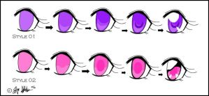 CG Eye Styles Part 01 by Melchony