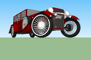 1932 Kindler Automobile by Pixel-pencil