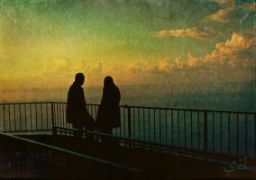 Muslim Couple, Lebanon. by SDagher