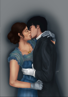 Infernal Devices: Will and Tessa by jeminabox