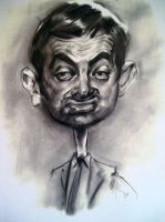 Mr. Bean. Rowan Atkinson by Shotico