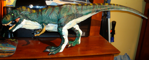Bull T. rex Repainted by abekowalski