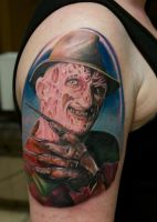 freddy krueger tattoo by graynd