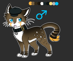 Classy Kitty Adopt Auction :SOLD: by Darkaiya