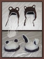 Baby and Toddler Hats by MyntKat