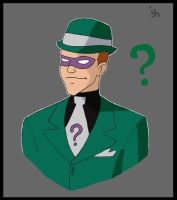 BTAS The Riddler by Iddle-Diddle