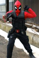 My Deadpool Cosplay by Moscou