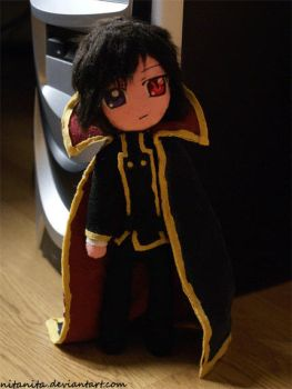 Lelouch plush by nitanita