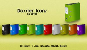 Dossier Icons Pack by DirTek