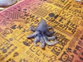 Squid Clay Figure by Wolfriderxangel