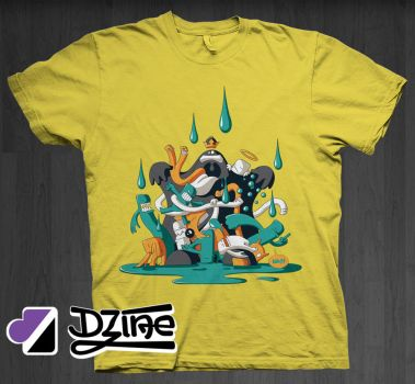 Hysteric Rain by DzineClothing