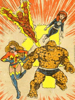 Fantastic Four 1987 by TheCosmicBeholder