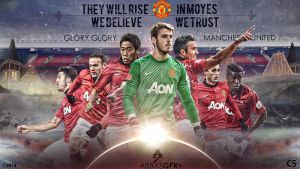 Manchester United 2013-2014 by abbaszahmed